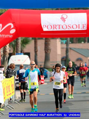 Portosole Sanremo Half Marathon Run for The Whales Gare ed Eventi per salvare le Balene